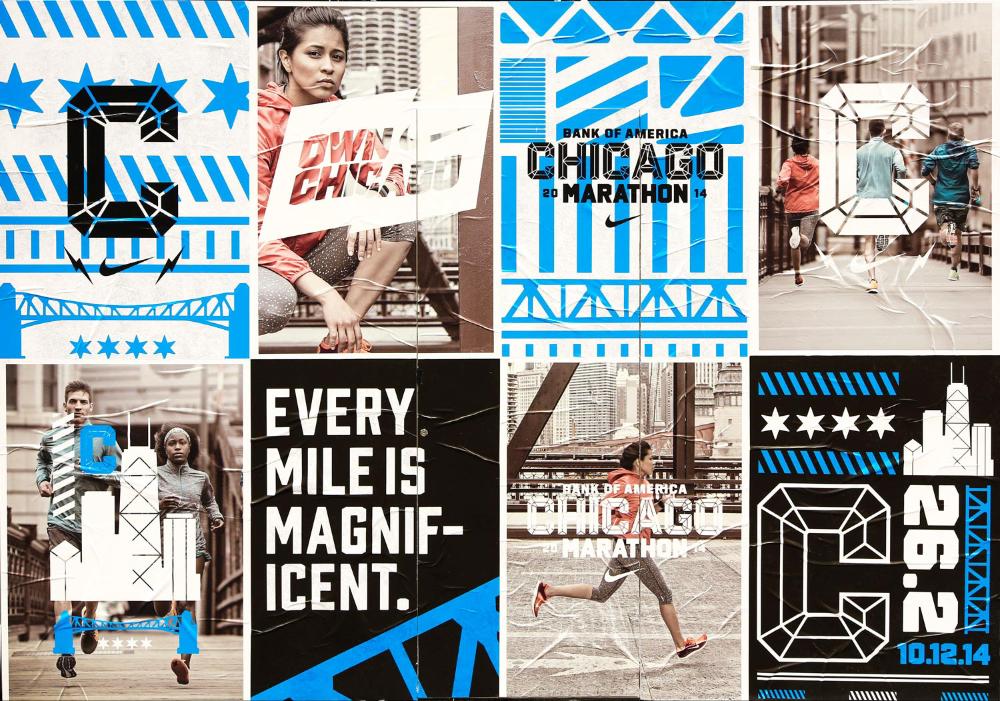 Chicago Marathon 2014 — Nike on Behance in 2020 Marathon