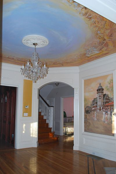 painted murals for home decorating ideas foyer Google Search