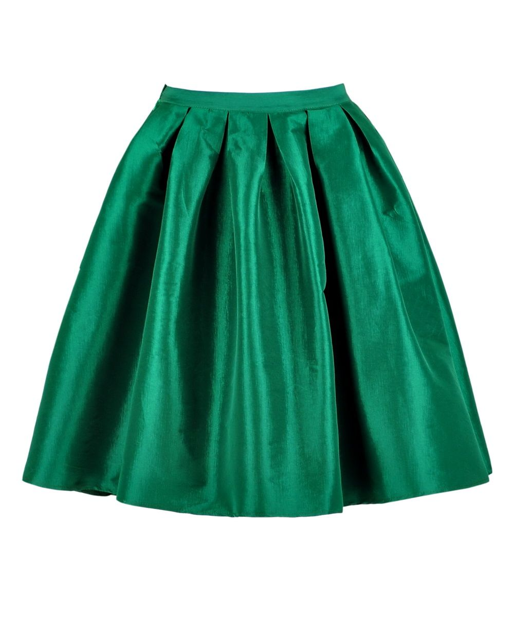 http://www.getthelooks.com.au/full-pleated-knee-length-skirt-in ...