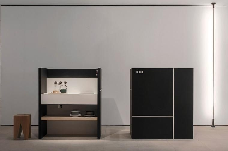 Designs von praktischen minimalistischen küchen mit modernem stil