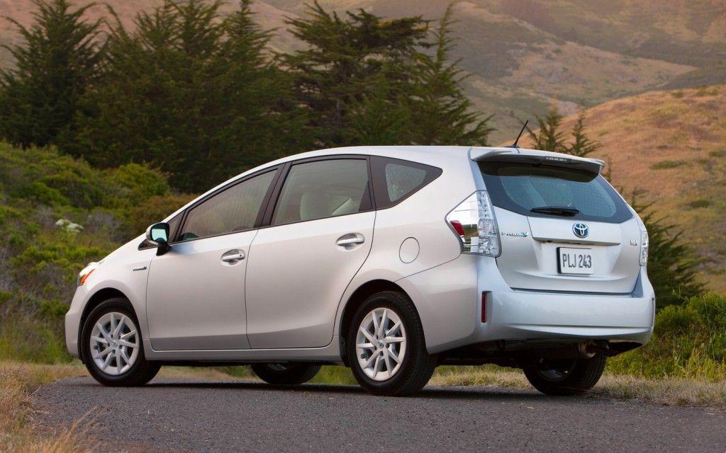 Voted Best Fuel Economy Eco Car Toyota Prius V Hybrid Car Toyota Prius Toyota