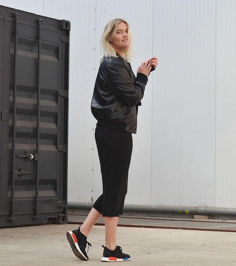 40 tolle Outfits kombiniert mit Adidas NMD für Damen