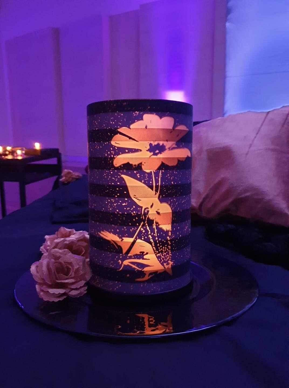Magnifique Collection After Dark Lampions Partylite Wohnzimmer