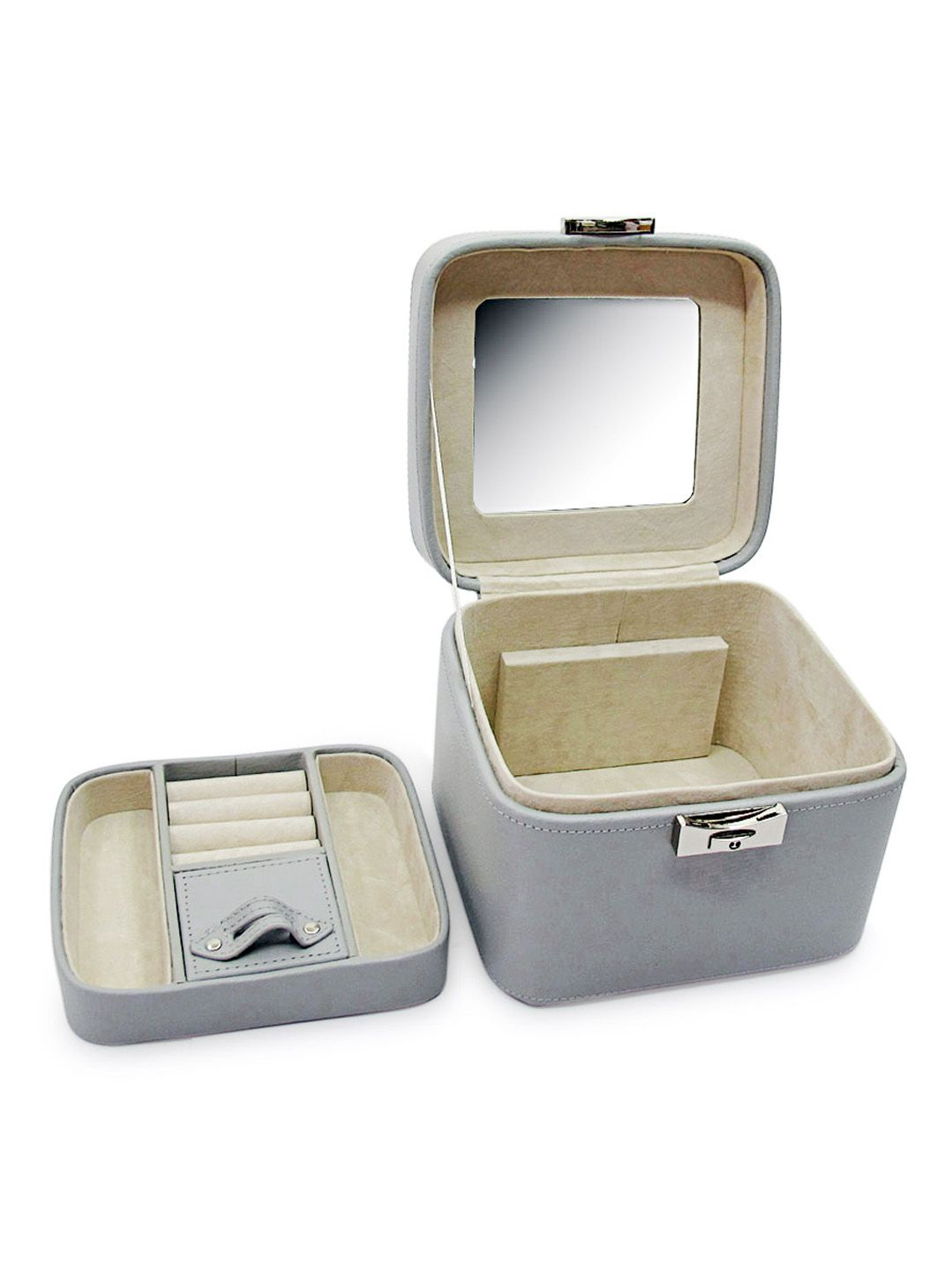 Emma Small Leather Jewelry Box by Morelle Co at Gilt Jewels