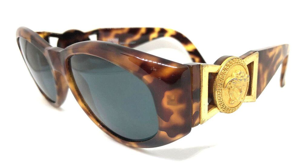 2ae4f64c42 Gianni Versace Mod.424 Col.869 OD Vintage Sunglasses CHRIS BROWN NOTORIOUS  MIGOS