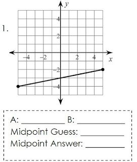 Teaching the Midpoint Formula without using the formula