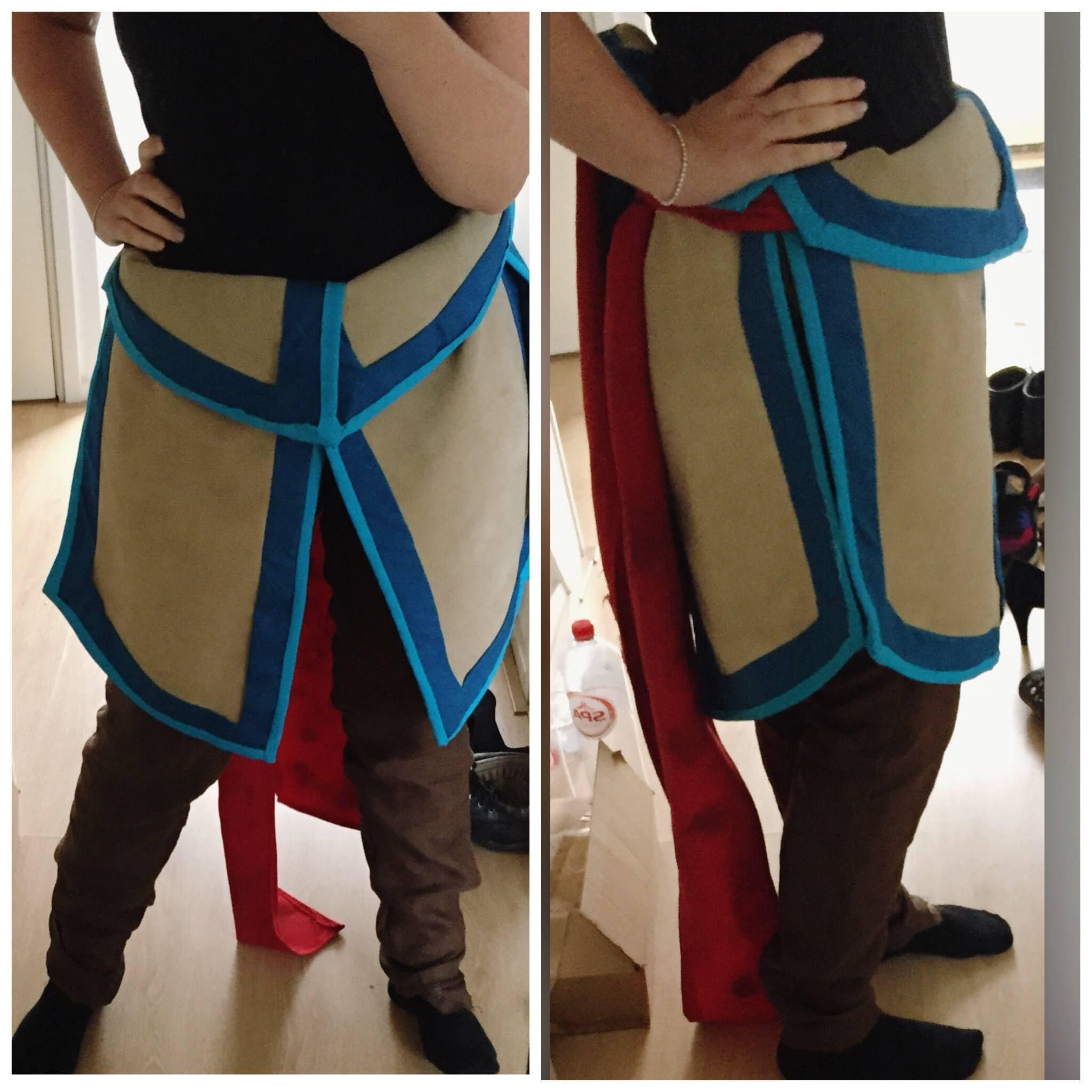 Aloy skirt tutorial  Part 1: Flaps!