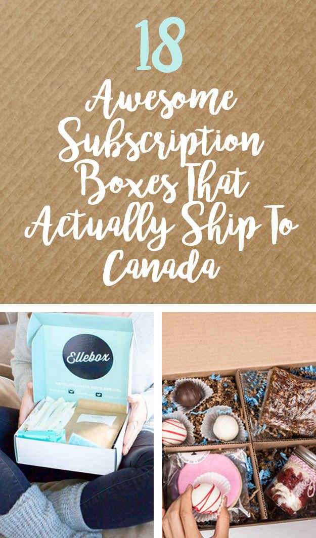18 Brilliant Subscription Boxes That Every Canadian Needs Gift