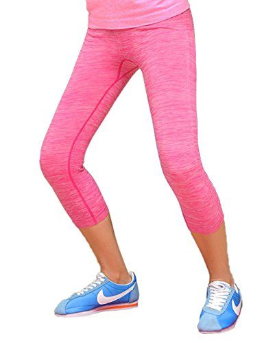 b6f914f326 SIMPLORE Womens Tight Cotton Yoga Pants Breathable Capri leggings for Sport  Workout Gym Running Red ** Learn more by visiting the image link.