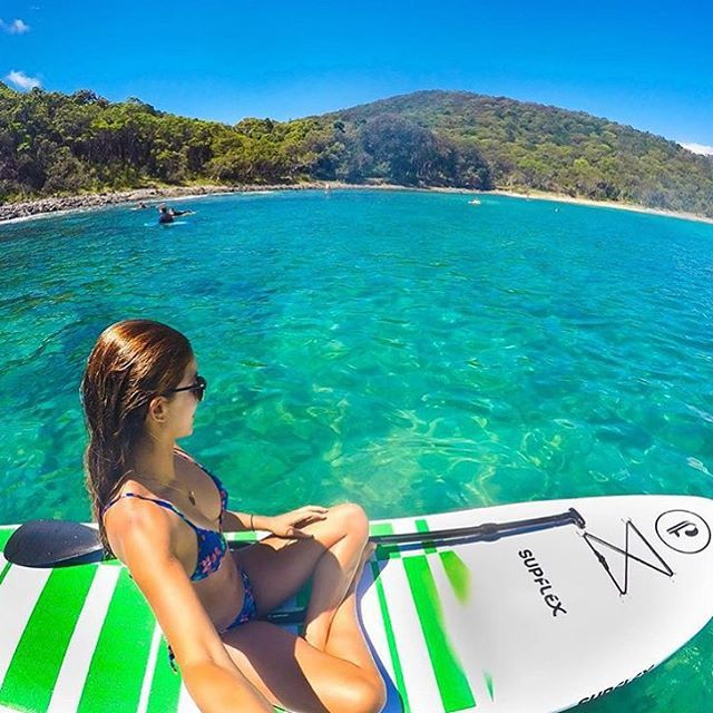 Perfect conditions for a bit of stand up paddle boarding around the Noosa National Park... We know where we'd rather be right now! With several beaches and bays, there's plenty of room around the park to find a spot and make it your own for the day.