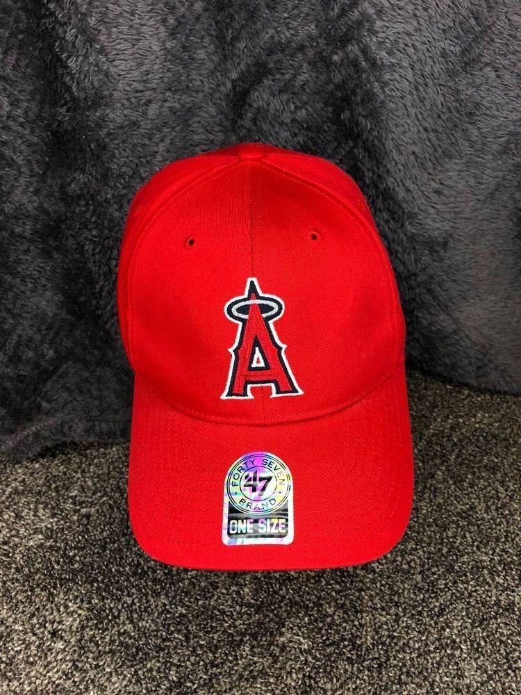 Angels Snapback Hat NWOT Los Angeles California Baseball MLB 47 Forty Seven  Cap  fortySevenBrand   b56abf356577