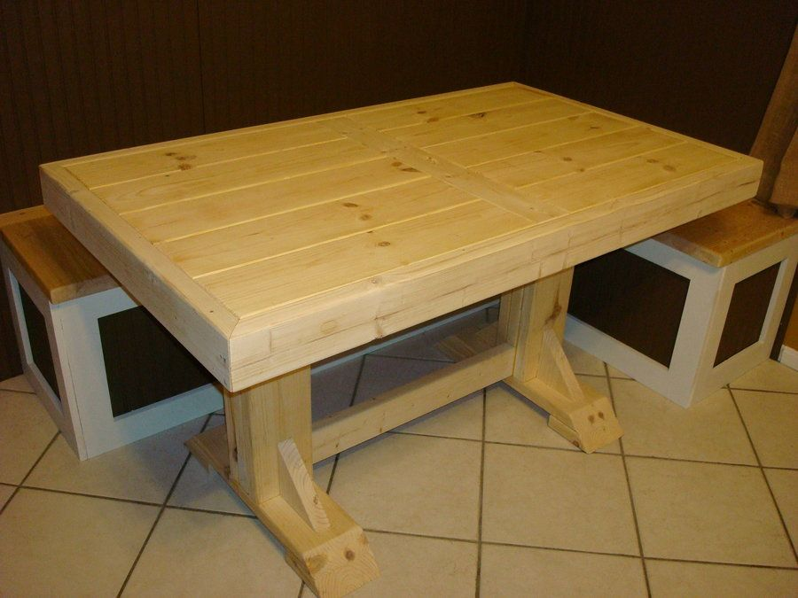 2x4 furniture 2x4 furniture madeira pinterest 2x4 for Dining room table 2x4