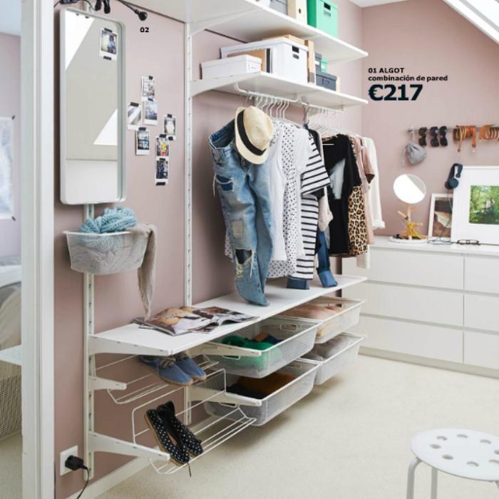 como hacer un vestidor ikea algot vestidor Pinterest Ikea