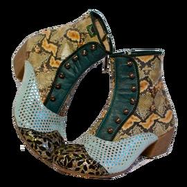 zapatos de diseño unico PISAVERDE,diseño y producción de