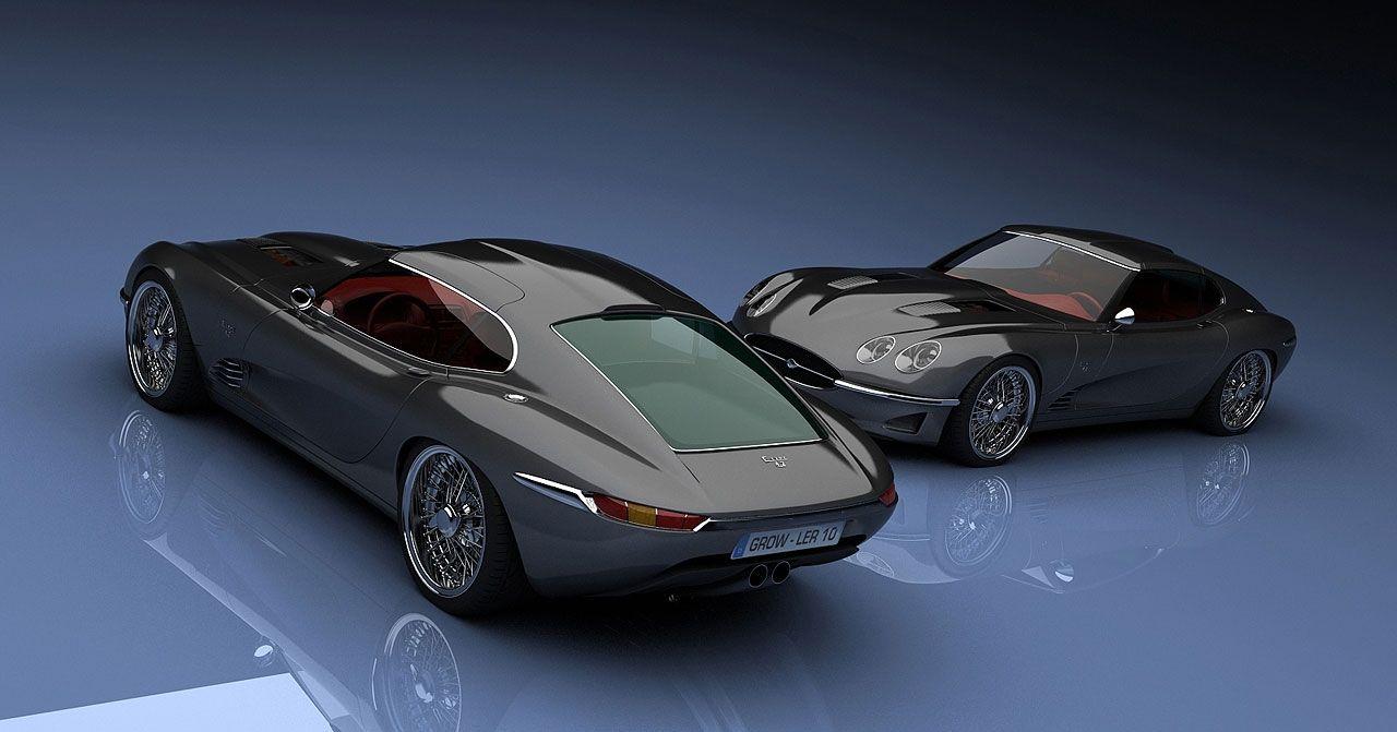❦ Growler E 2011 Jaguar E-Type Concept