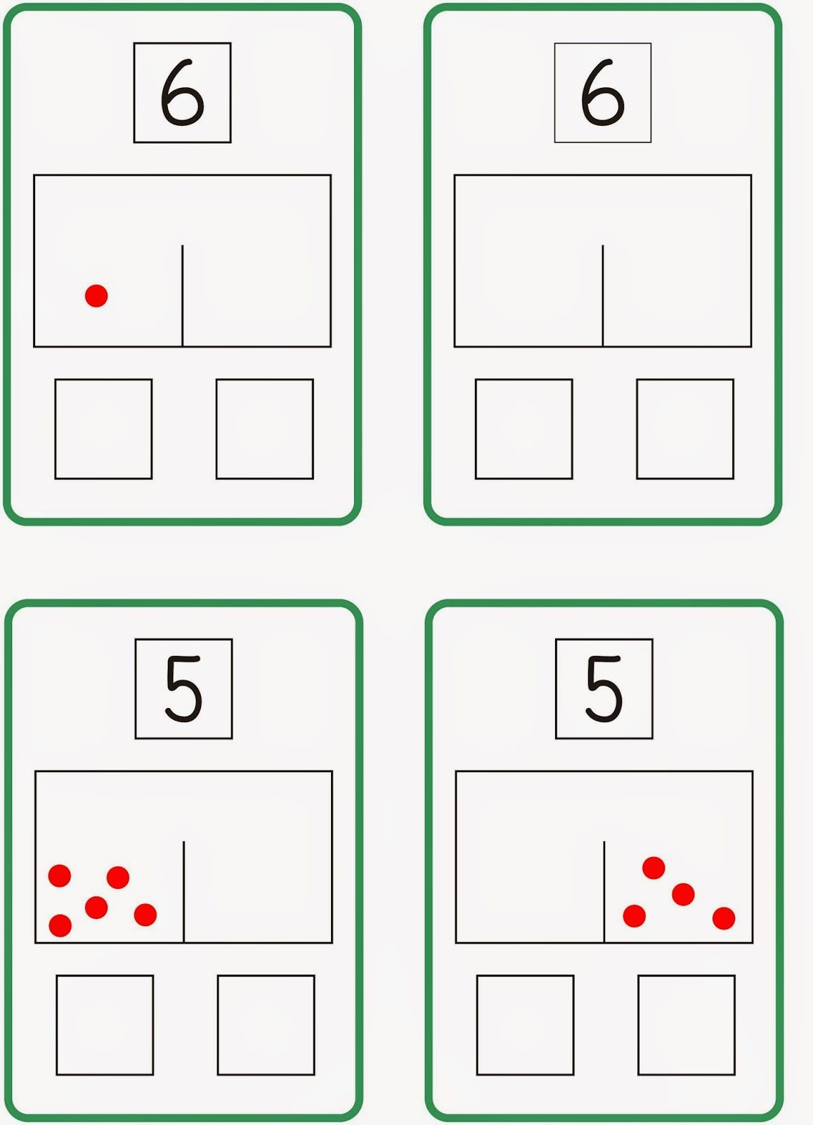 zahlzerlegung sch ttelbox 2 mathe pinterest mathe matheunterricht und mathematik lernen. Black Bedroom Furniture Sets. Home Design Ideas
