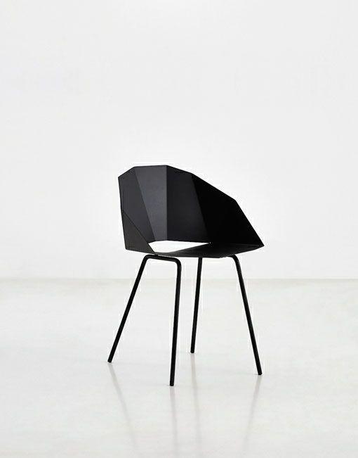Sillas negras Buk DIHWEB La tienda de muebles online Pinterest