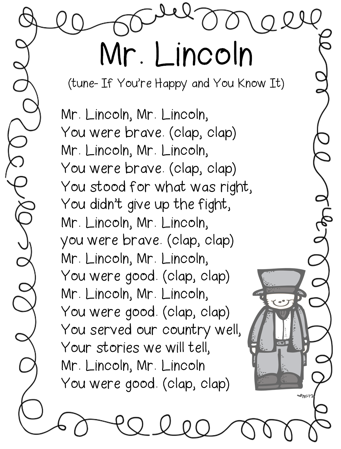 First Grade Wow: Historical Figures, George and Abe | Kinder-Social ...