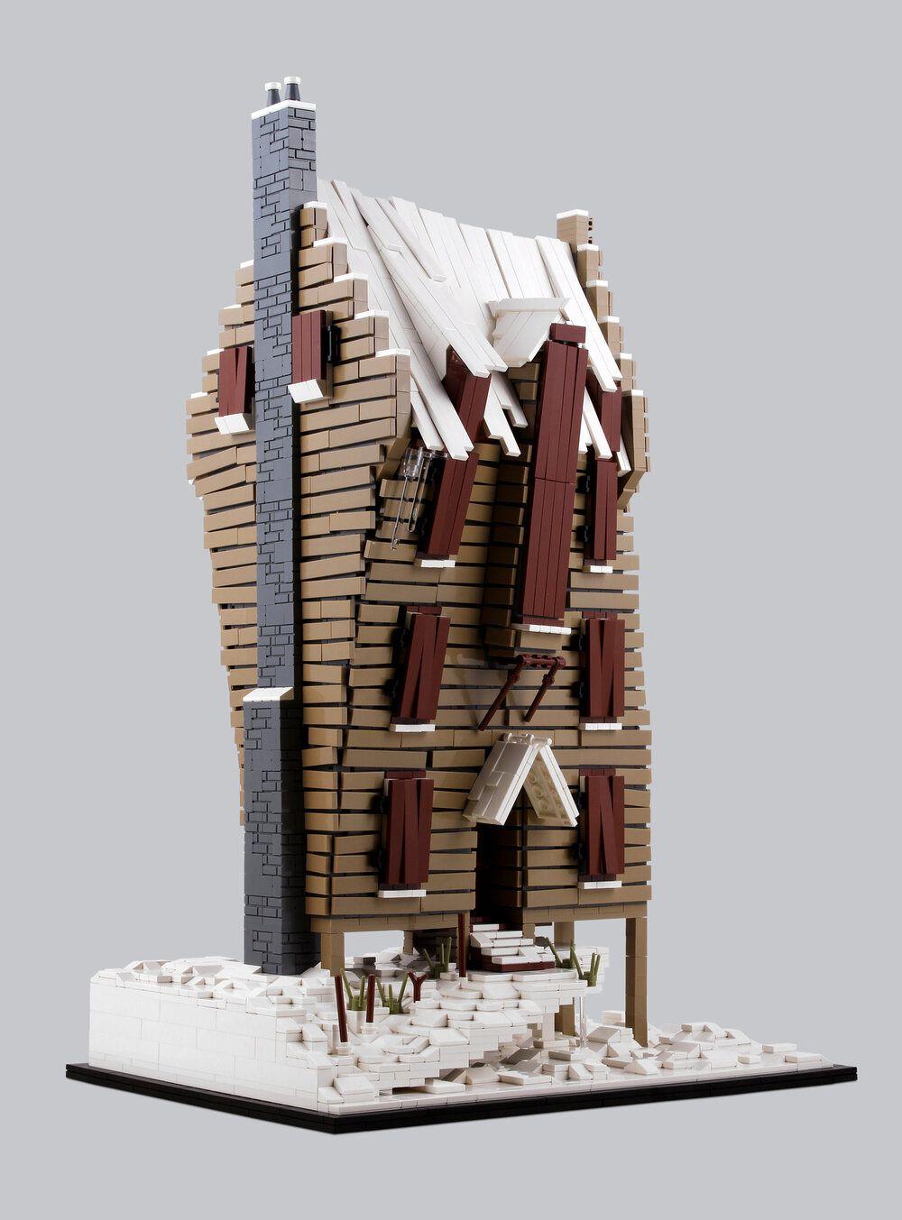 The Shrieking Shack Bricknerd Your Place For All Things Lego And The Lego Fan Community Lego Hogwarts Lego Lego Harry Potter