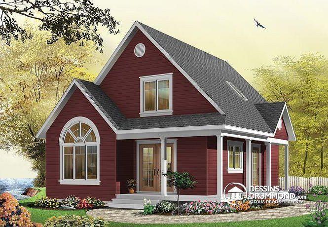 Plan de maison no W3507 de dessinsdrummond Maisons