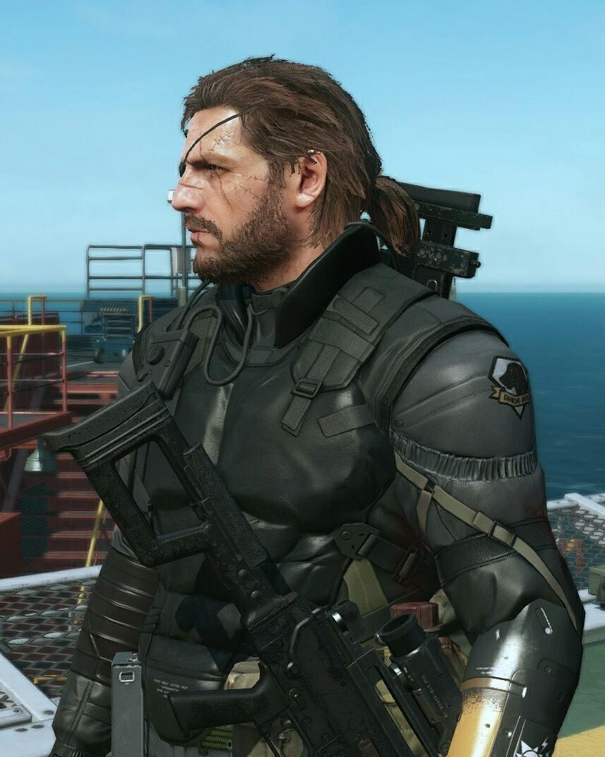 Big Boss Metal Gear V Big Boss Metal Gear Metal Gear Solid
