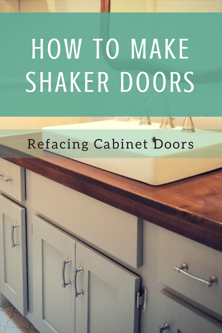 Refacing Cabinet Doors | My Style | Pinterest