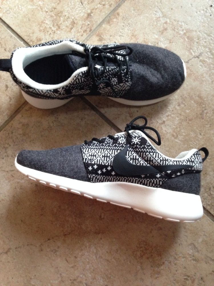 7a3a4719cd2d8 ... sweden wmns nike roshe one winter sweater print black womens running  shoes 685286 001 in clothing