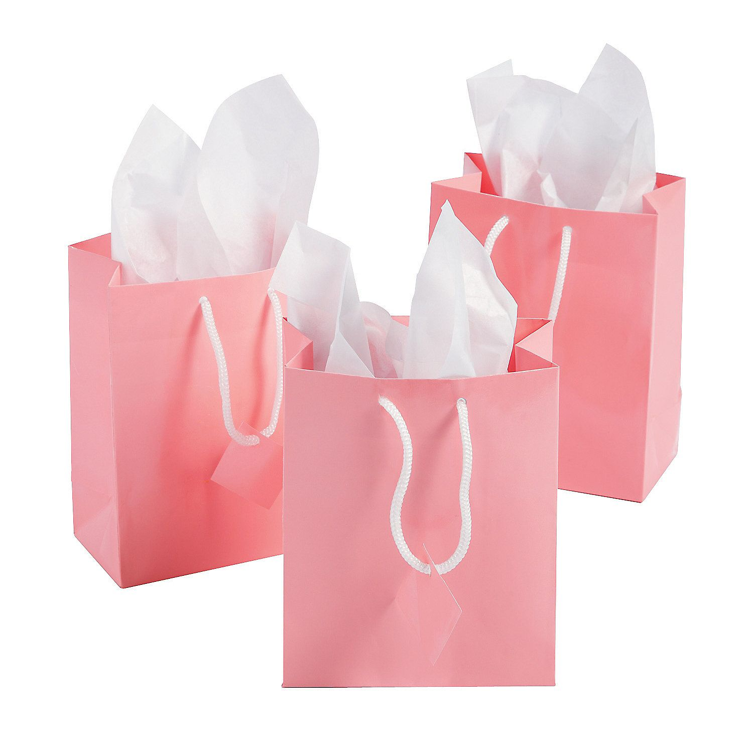 Small Pink Gift Bags   Pink gifts and Favors