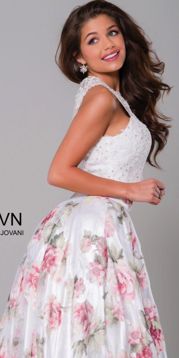954fc3bf7f3 JVN by Jovani JVN41771 Print Dress - JVN by Jovani - JVN41771 -  378.00