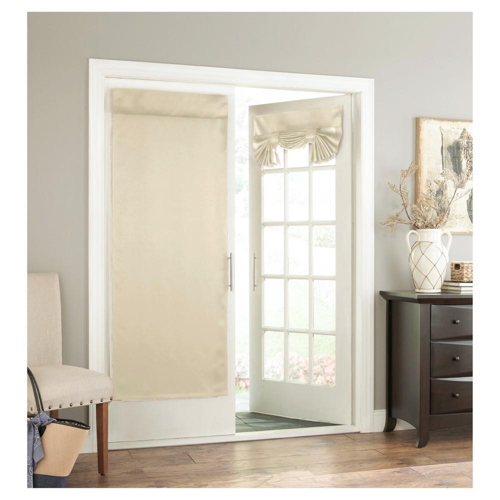 26 X68 Tricia Room Darkening Door Panel Stone Eclipse Door