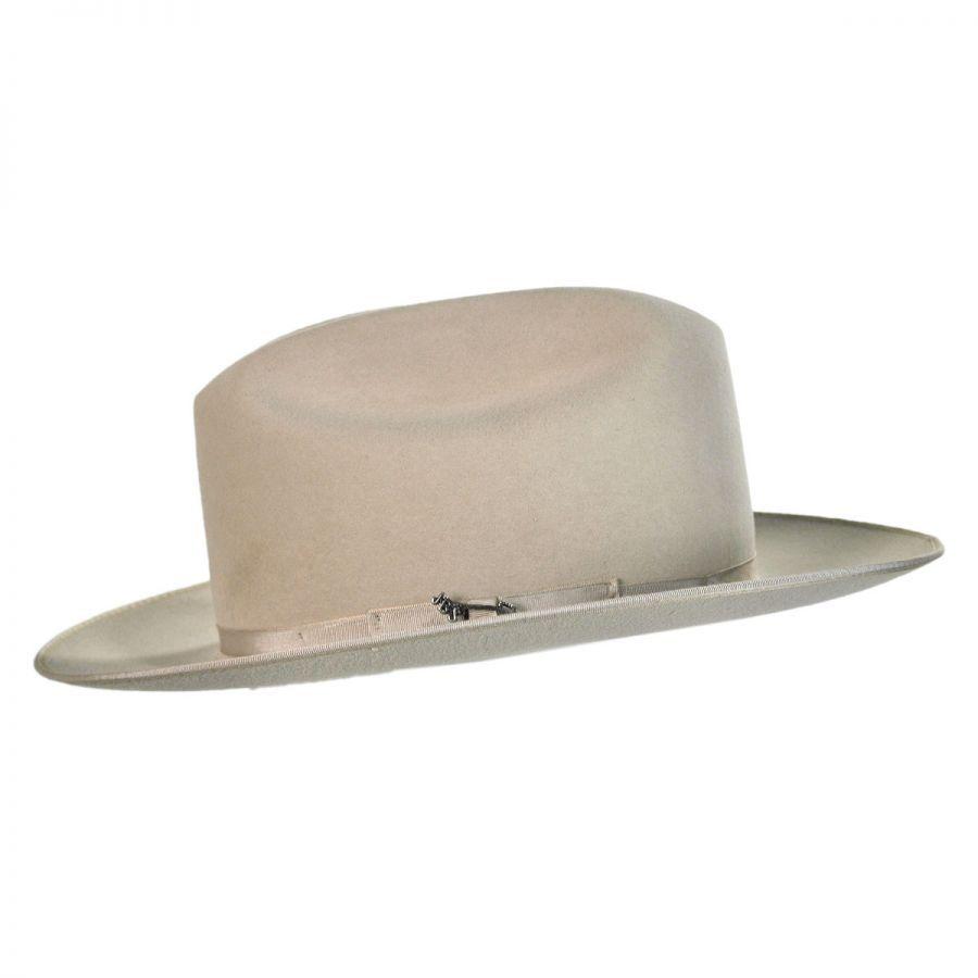 45d9ab01d2703 Stetson Open Road Fur Felt Western Hat (silver belly)