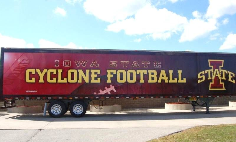 Iowa State University Cyclones Equipment Transporter For Away