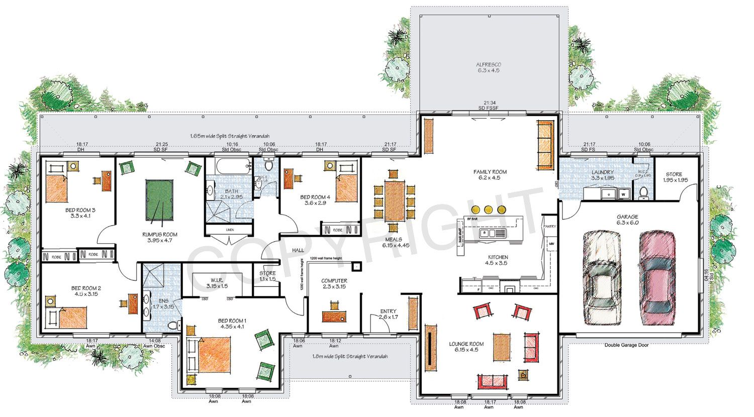 the stanthorpe floor plan - download a pdf here