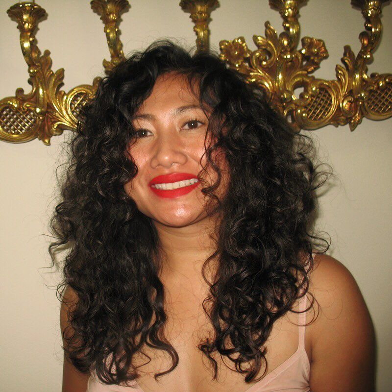 Naturally Curly Asian Hair Asian Hair Hair Journey Curly Asian Hair