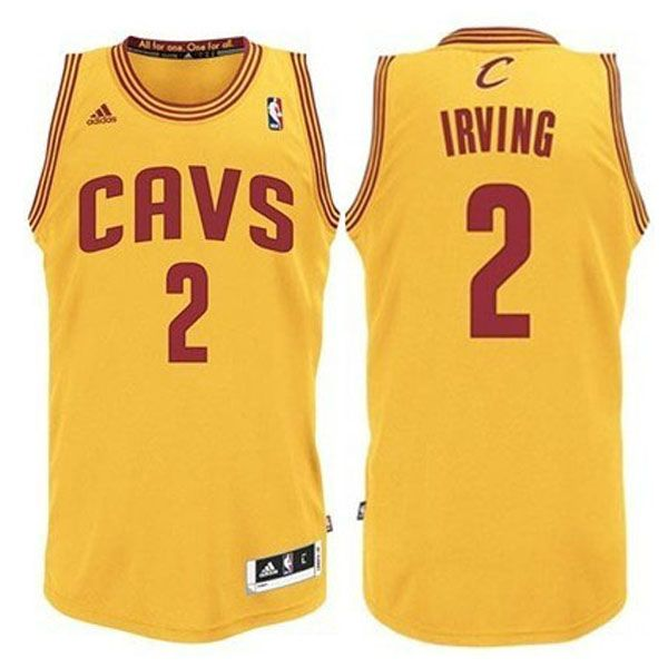 6210d46ca Kyrie Irving Yellow Jersey