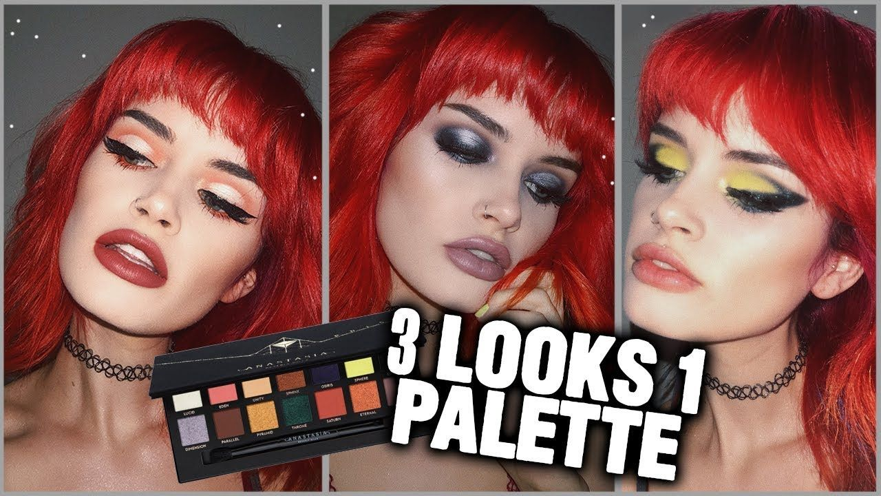 3 LOOKS 1 PALETTE // NEW Wet n Wild My Glamour Squad