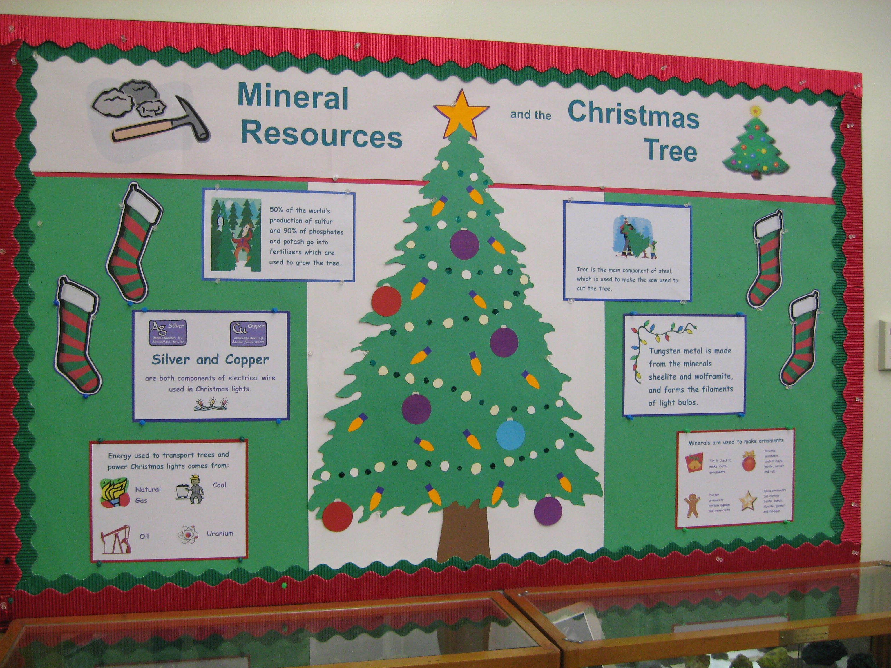 Christmas Tree Display Board.College Homecoming Bulletin Board Ideas Christmas Bulletin