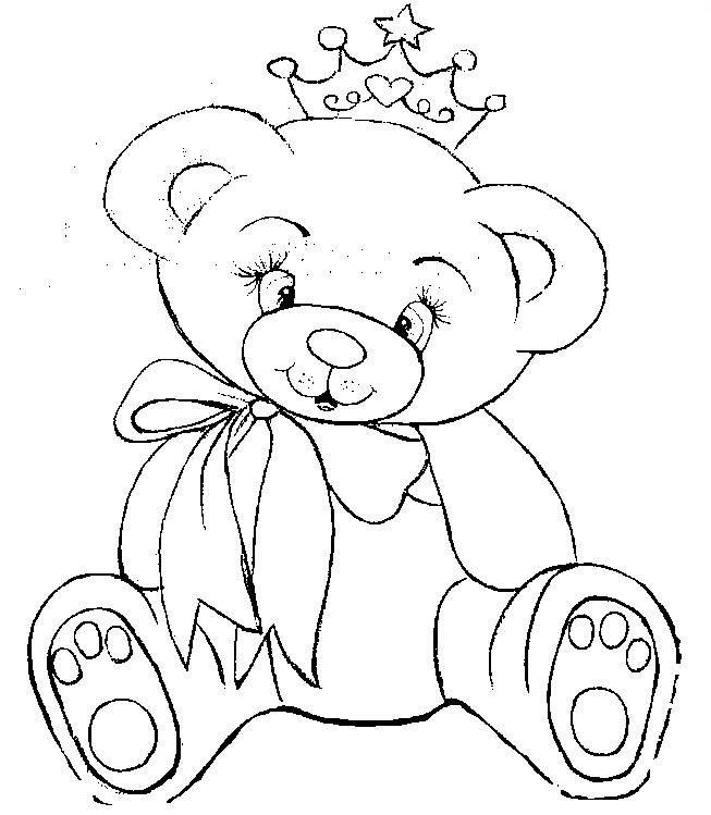 ausmalbilder teddy für kinder ausmalbilder malvorlagen