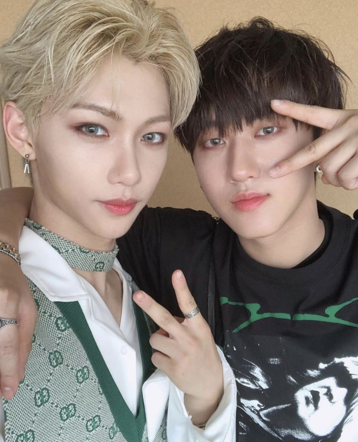 #Felix and #Changbin ~ #StrayKids #changbinstraykids