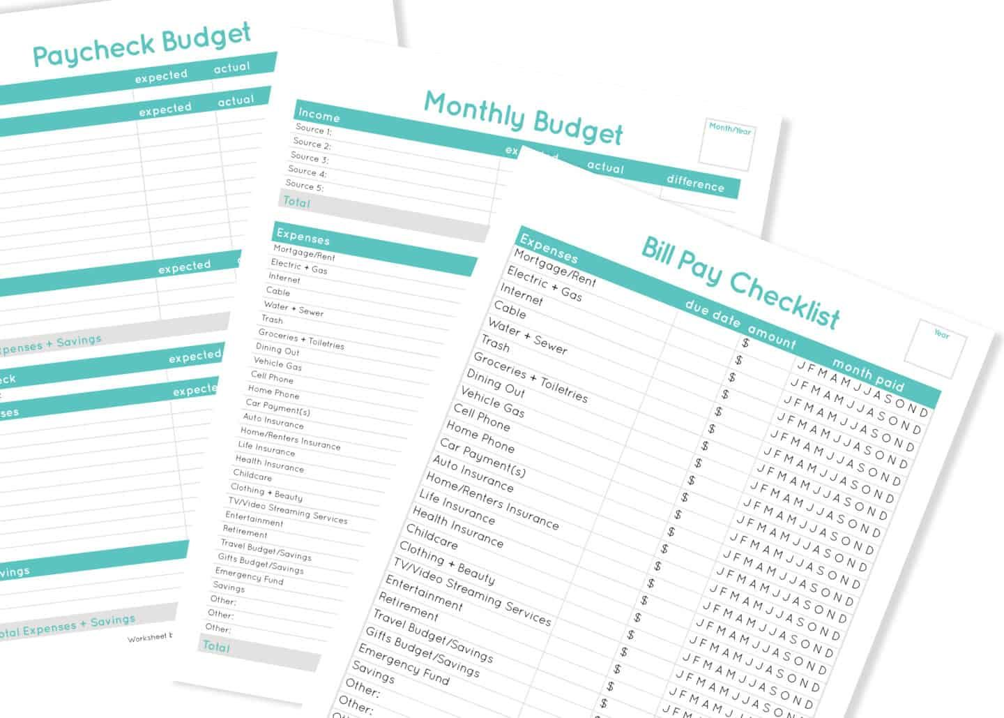 11 Easy And Free Budget Planners To Help You Budget Better