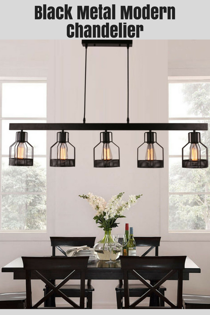 Long Modern Black Metal Kitchen Island Chandelier Amazing Price And Reviews On Amazon Chan Kitchen With Long Island Kitchen Island Lighting Apartment Design