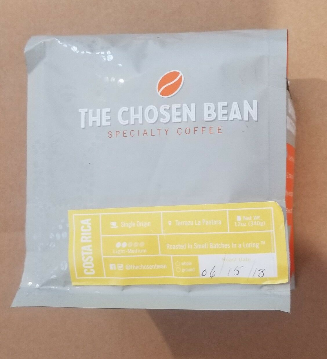 Details about THE CHOSEN BEAN Specialty Coffee COSTA RICA