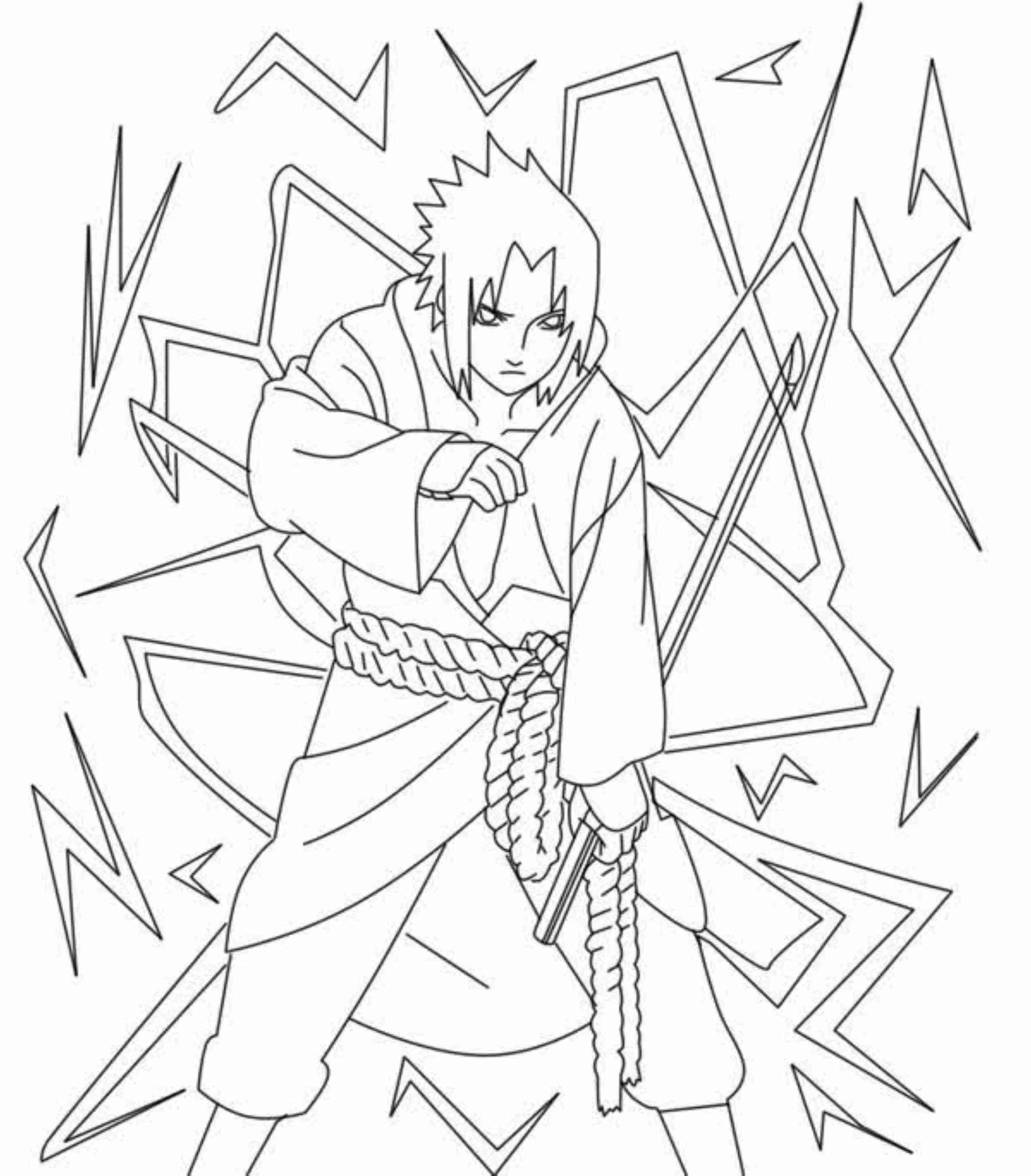 Boruto Uzumaki Coloring Pages