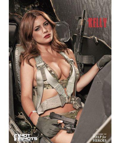bbc94307509 Hot Shots Poster - Kelly Hall | Guns, Girls, and Girls with Guns ...