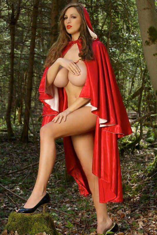 nude red car hood