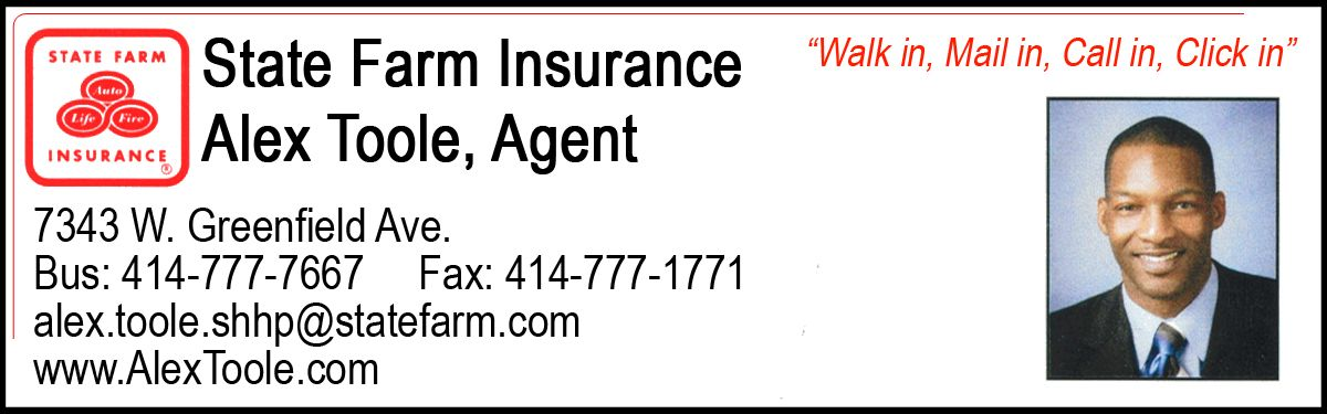 State Farm Insurance Agent Alex Toole 7343 W Greenfield Avenue