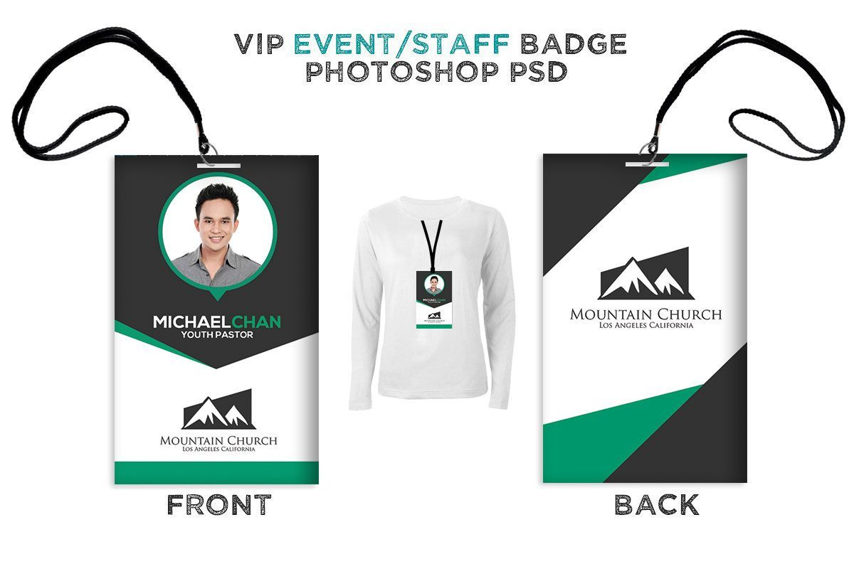 church employee id card template iddesign id design in 2018