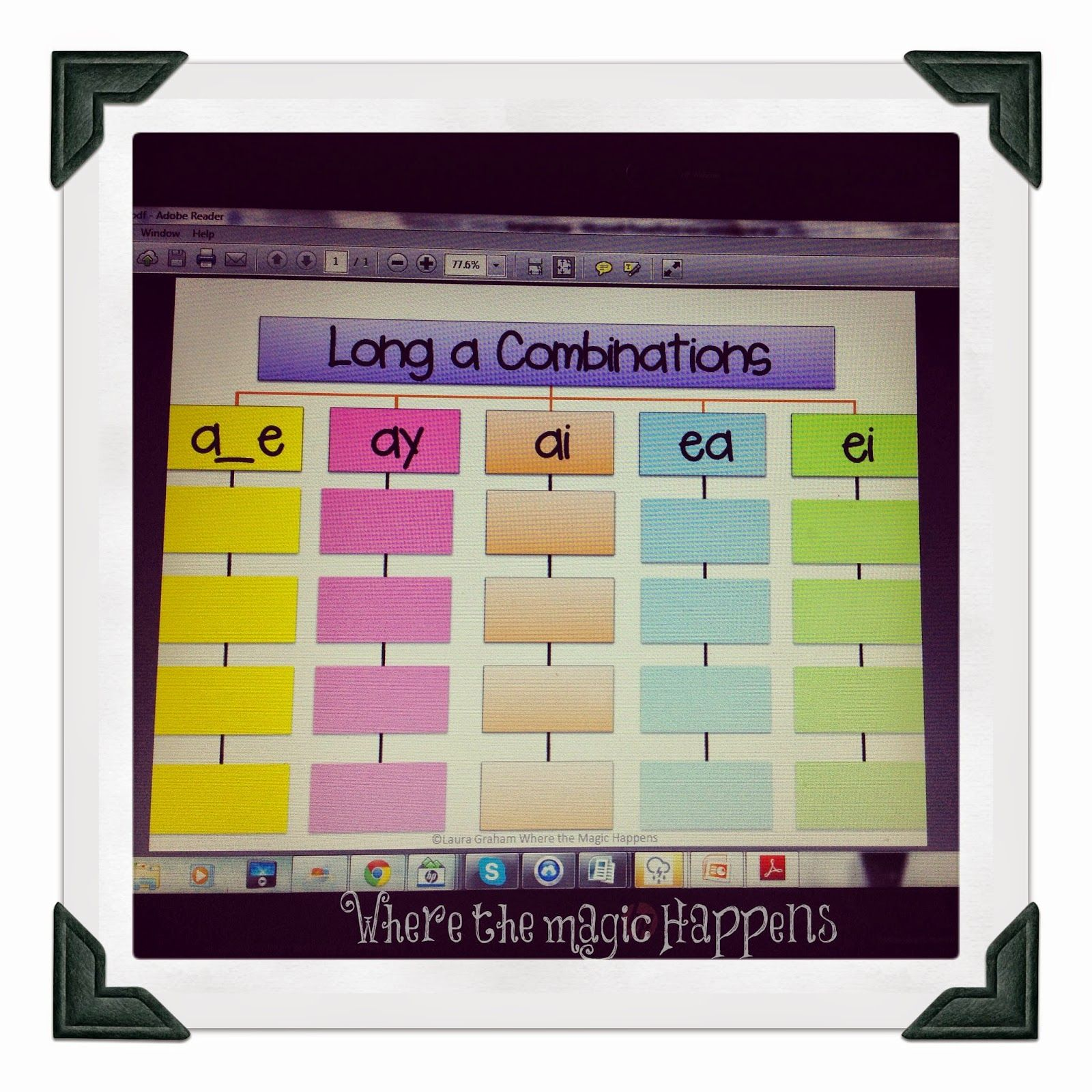 Freebie tree map for all vowel combinations reading math and freebie tree map for all vowel combinations nvjuhfo Choice Image