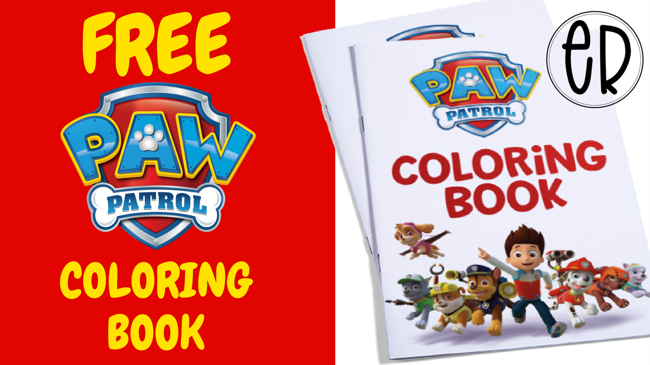 Paw Patrol Coloring Activity Book - Paw patrol coloring, Color activities, Paw patrol party, Paw patrol birthday party, Book activities, Paw patrol - Download this free coloring activity book for your kids next Paw Patrol birthday party