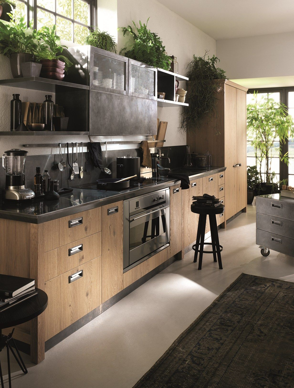 Diesel with Scavolini: the other side of the kitchen Anima vintage ...